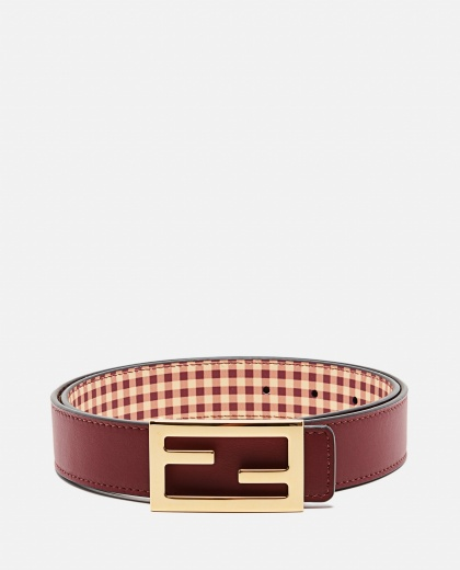 Belt with reversible buckle Women Fendi 000260570038578 1