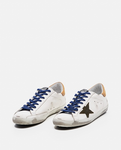 'Superstar' sneakers in leather and suede Men Golden Goose 000269250039691 2