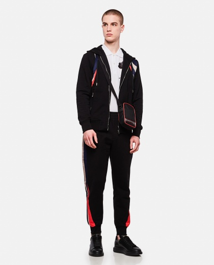 Sporty cotton trousers  Men Alexander McQueen 000214920031905 2