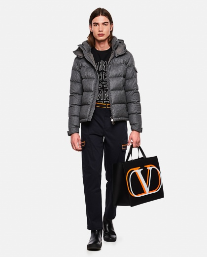 Down jacket with application Men Moncler 000271310039971 2