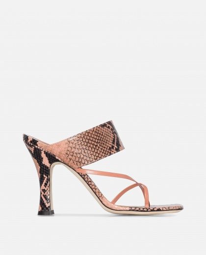 Snake print sandals Women Paris Texas 000246560036473 1