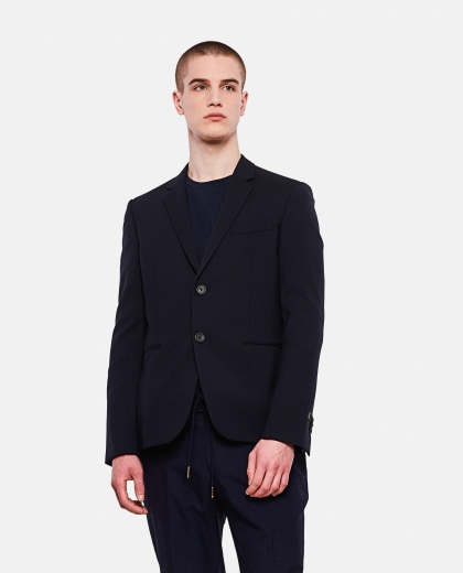 Slim virgin wool blazer