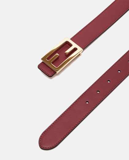 Belt with reversible buckle Women Fendi 000260570038578 2