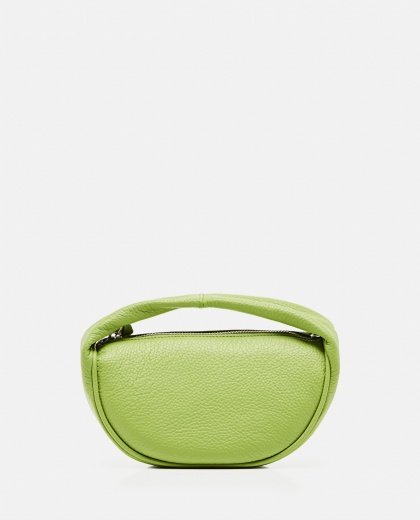 Cush hammered leather bag Women By Far 000304310044654 1