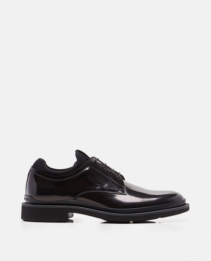 Smooth leather lace-up Men Tod's 000268540039602 1