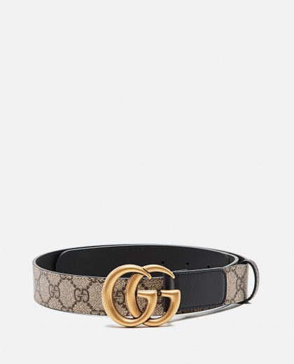 GG motif belt with Double G buckle