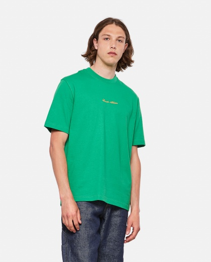 Lacoste Live Unisex loose fit cotton T-shirt with golden embroidery Men Lacoste 000297550043779 1