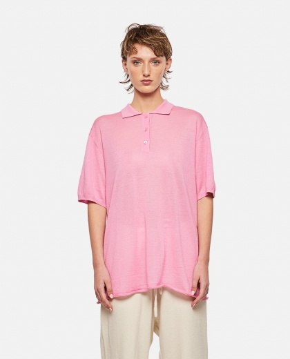 Comfort fit polo T-shirt Women Extreme Cashmere X 000305470044794 1