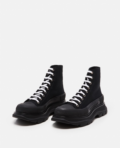 Tread Slick ankle boots Men Alexander McQueen 000268870039639 2