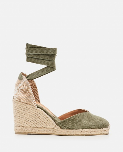 Chiara  canvas espadrille with wedge of 11cm  Women Castaner 000286110042221 1