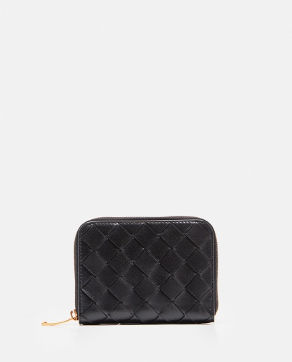 Intrecciato leather wallet  Women Bottega Veneta 000224250033182 1