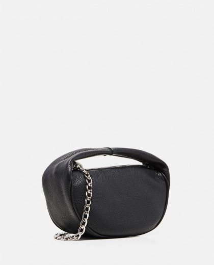 Cush hammered leather bag Women By Far 000304300044653 2