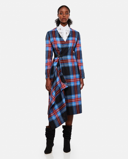Checked dress Women Loverboy 000264590039092 1