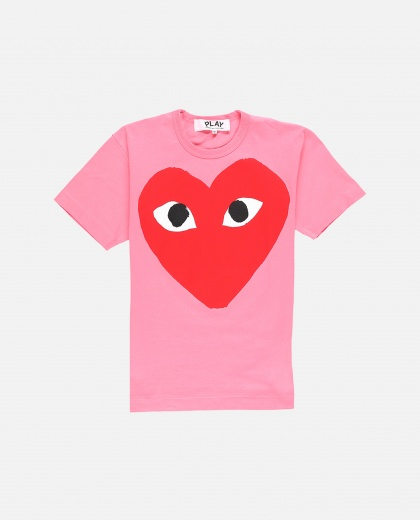 Logo print T-shirt Men Comme des Garcons Play 000230930034078 1