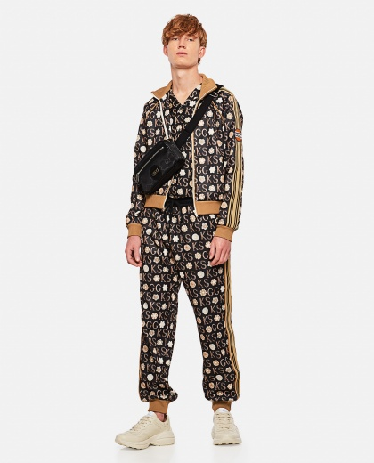 Ken Scott x Gucci print jogging pants Men Gucci 000293190043182 2