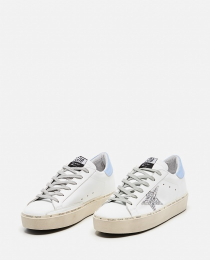 Sneaker Hi Star classic in pelle Donna Golden Goose 000256610042307 2