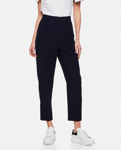 High-waisted tailored trousers Donna Alexander McQueen 000284980042015 1