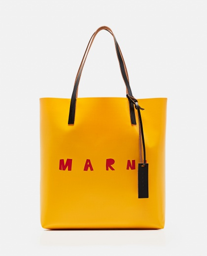 Tote bag with logo print Women Marni 000289870042699 1