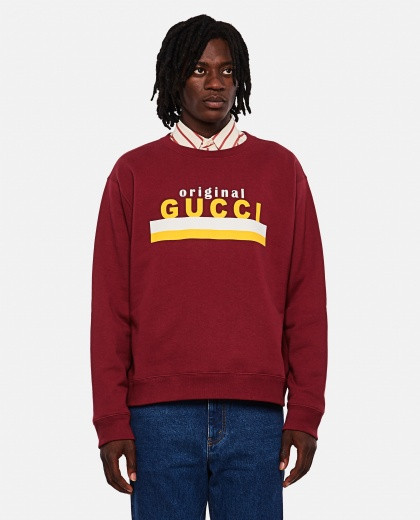 Sweatshirt with 'Original Gucci' print