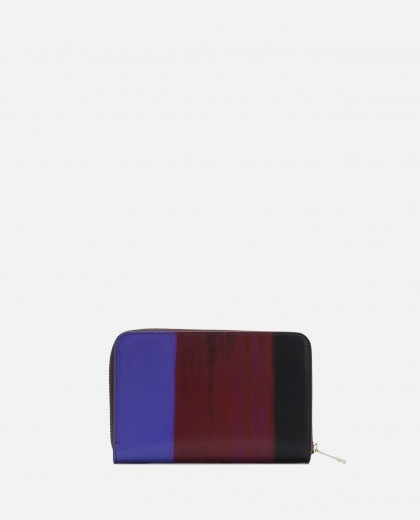 Wallet with brushed print Women PS Paul Smith 000233330034486 2