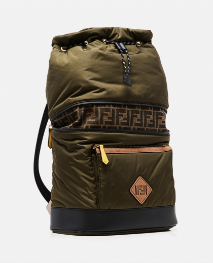 Backpack with FF monogram Men Fendi 000266940039400 2