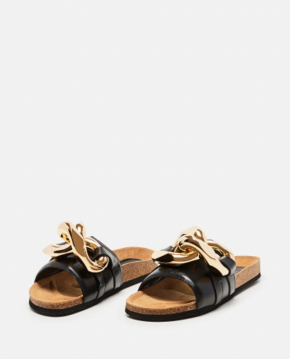 Chain sandals in leather Women J.W. Anderson 000302850044474 2