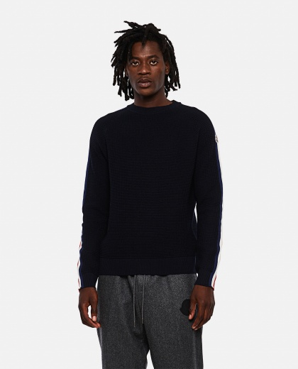 Sweater with application