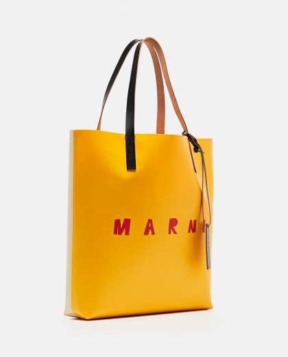 Tote bag with logo print Women Marni 000289870042699 2