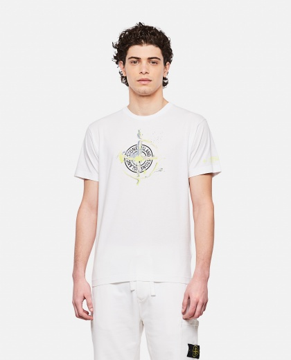 Cotton jersey T-shirt Men Stone Island 000292720043108 1