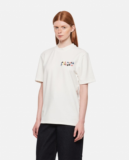 T-shirt with multicolor