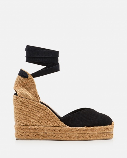 Chiara  canvas espadrille with wedge of 11cm  Women Castaner 000286090042219 1
