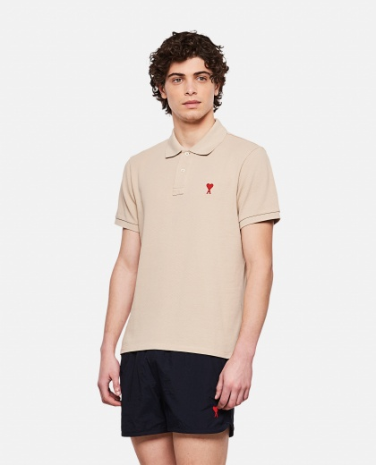 Polo shirt with embroidered logo Uomo AMI Paris 000291290042892 1