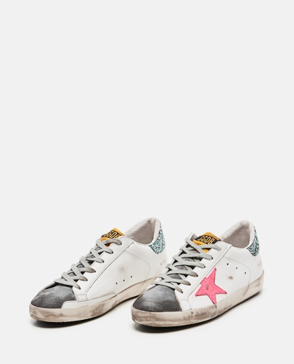 Superstar classic sneakers in leather and suede Women Golden Goose 000286840042308 2