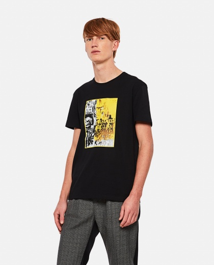 Graphic print T-shirt Men Alexander McQueen 000291010042844 1