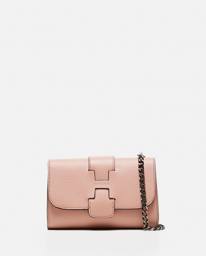 Textured leather Shoulder bag  Women Hogan 000287990042442 1