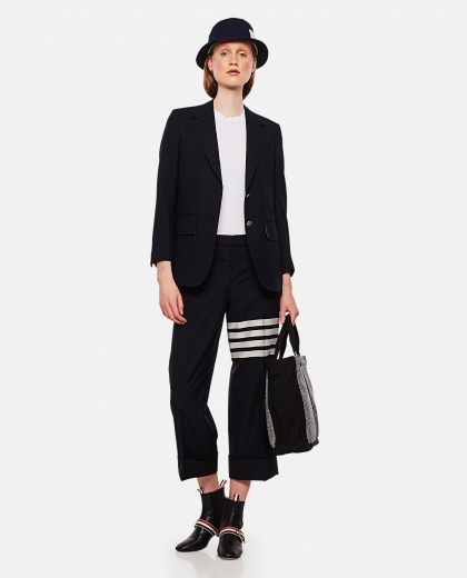 Wide leg trousers Women Thom Browne 000255310037710 2