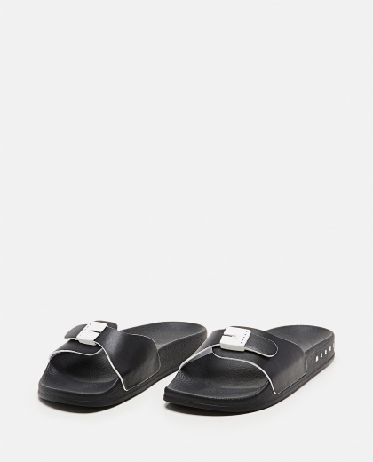 Rubber sandal with strap Donna Marni 000307240045022 2