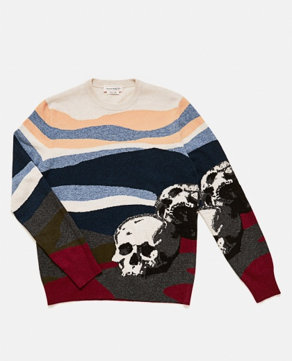 Sweater With Skull Men Alexander McQueen 000179760026763 2
