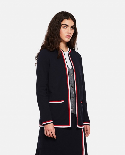 Cardigan in cotone  Donna Thom Browne 000274860040468 1