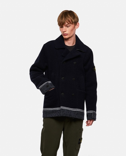 Double-breasted coat  Men Stone Island 000270790039869 1
