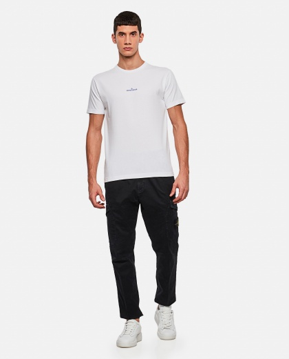 T-Shirt with Print on the back Men Stone Island 000271000039924 2