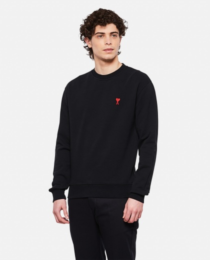 Cotton crewneck sweater Uomo AMI Paris 000291440042920 1