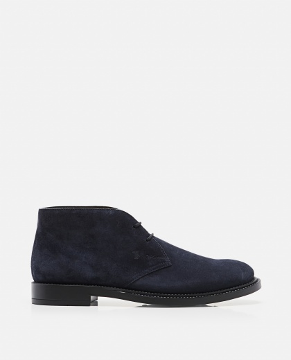 Suede ankle boots Men Tod's 000268720039621 1