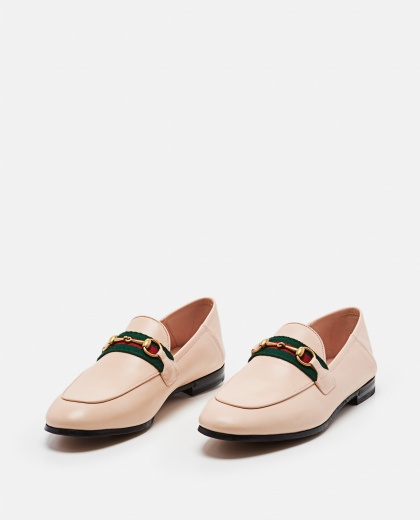 Brixton loafer with Web Women Gucci 000259340038370 2