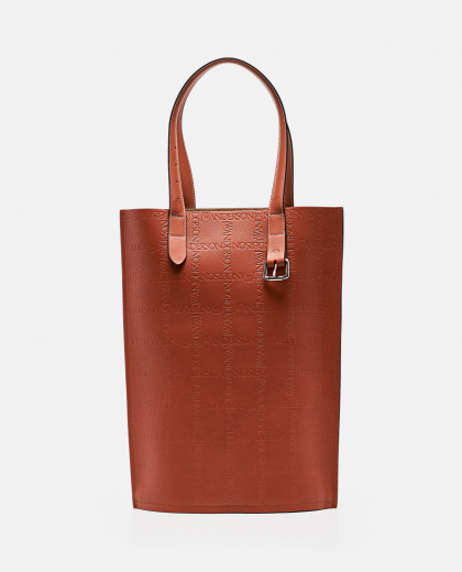 Tote bag with embossed logo Men J.W. Anderson 000293300043195 1