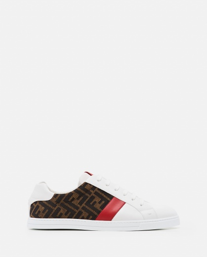 Sneakers Low top in pelle  Uomo Fendi 000310400045516 1