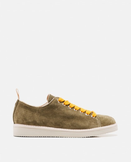 Suede lace-up sneakers Men Panchic 000237810035170 1