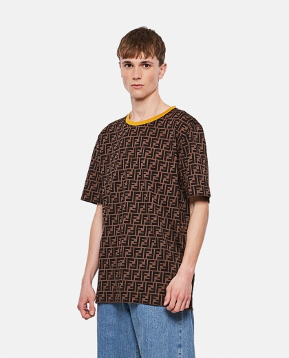 Cotton T-shirt Men Fendi 000149190032555 1