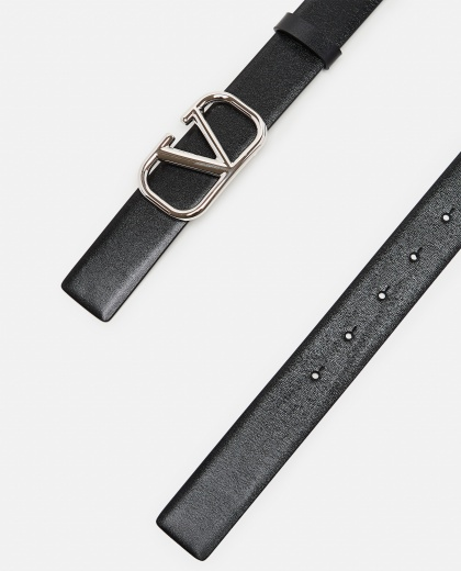 V logo leather belt Men Valentino 000294880043377 2