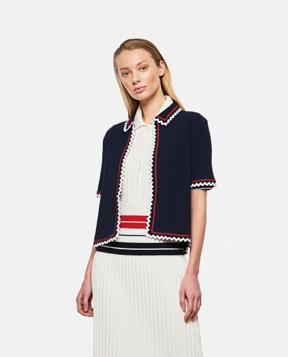 Top with worked hem Donna Thom Browne 000295630043623 1